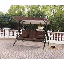Outdoors Marvelous Porch Swings Lowes 3 Person Outdoor Swing