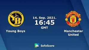 Young Boys - Manchester United Live ticker, H2H und Aufstellungen