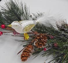 Christbaumschmuck Vogel Weiß Wwwkleinedingeladende
