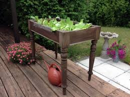 upcycled raised bed