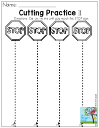 Pictures on Cutting Worksheets For Kindergarten, - Easy Worksheet ...