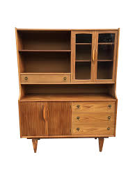 mid century hutch. Contemporary Mid This Unique Midcentury Hutch By Stanley Features Quality Walnut  Construction That Combines Style And Storage In A Classic Package Intended Mid Century Hutch D