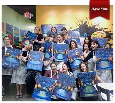 private painting party at paints n tails