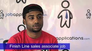 finish line s representative job description salary