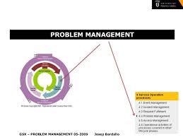 Itil V3 Problem Management