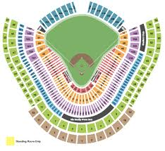 Dodgers Seating Chart 2017 Los Angeles Dodgers Packages
