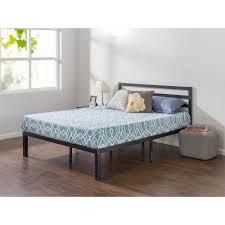 metal platform bed frame. Queen Metal Platform Bed Frame With Headboard H