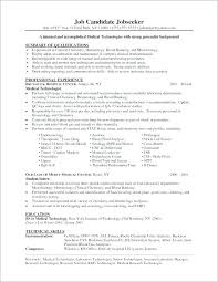 Medical Technologist Sample Resume Best of Cover Letter Medical Laboratory Technologist Beautiful Resume Cover