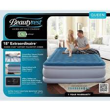 beautyrest air mattress. Simmons Beautyrest Extraordinaire Raised Air Bed Mattress With IFlex Support And Built-in Pump, Multiple Sizes - Walmart.com I