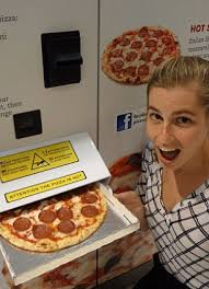 Pizza Vending Machine Nyc Mesmerizing Australia's Pizza Gio Vending Machine Launches In Sydney Daily