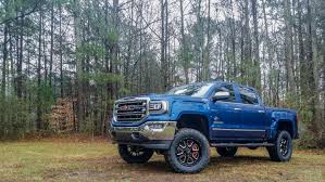 SCA GMC Black Widow - Stone Blue | Riding in Style | Gmc ...