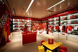 Ferrari Store By Iosa Ghini Associati Maranello Italy Retail Design Blog Retail Interior Design Retail Design Shop Interior Design