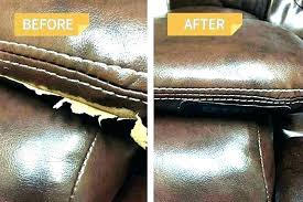 leather sofa fix kit repair for couches ling amazing vinyl couch furniture upholstery home depot leat