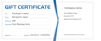 company gift certificate template template company gift certificate template