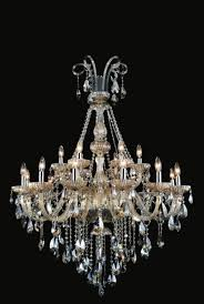 8 light crystal chandelier cognac color available in smoke cognac color 24