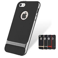 iphone 5s black and grey. lemcas rock royce series shockproof dual layer back case cover for apple iphone 5/apple iphone 5s black and grey