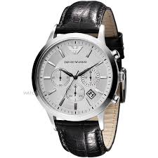 "men s emporio armani chronograph watch ar2432 watch shop comâ""¢ mens emporio armani chronograph watch ar2432"