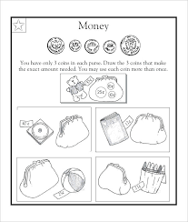 Grade Coin Worksheets Math Worksheets First Grade Money Grade Coin ...