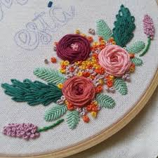 Canevas Moderne Design I Love Everything About This Design And Embroidery Work