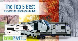 top 5 best 4 seasons travel trailers