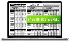 Personal Trainer Program Design Templates Excel Training Designs Fast Easy Affordable