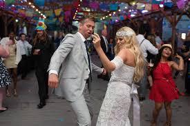 svatební veselka s hudbou
