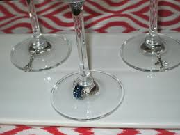hen party hen night wine glass charms