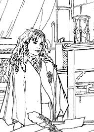 Harry Potter Hermione Coloring Pages 7