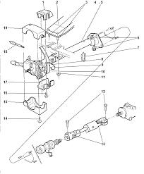 1998 dodge ram 1500 regular cab column steering upper and lower diagram 00i43023