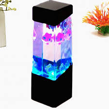 Amazoncom Aquarium Jellyfish Night Light Changing 5 Color Lava
