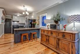 painted wood paneling kitchen cabinets