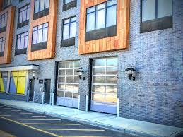 overhead glass garage door. Aluminum Metal Panel Overhead Garage Doors Hoboken, Jersey City, Harrison, Edgewater, Morristown Glass Door G