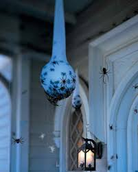 diy halloween decorations home. Scary Halloween DIY Decorations: Spider Egg Sacs At Martha Stewart Living Diy Decorations Home