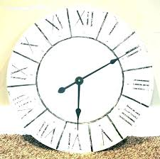 giant outdoor wall clock oversized clocks big target outside cl
