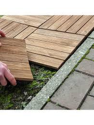 kingfisher ft100 wooden decking tiles
