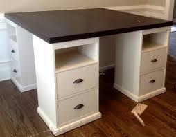 Four station desk (PB inspired)