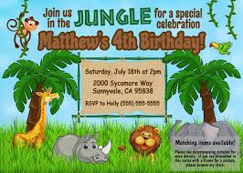 Jungle Theme Birthday Invitations Jungle Birthday Invite Jungle Birthday Invitation Jungle Theme Birthday Jungle Animal Invite Safari Theme Birthday