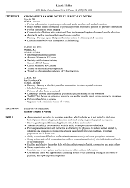 Resume Templates Sample Rn Medical Surgical Pdf Samples Good Clinic