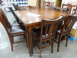 brilliant  piece counter height dining room sets charming