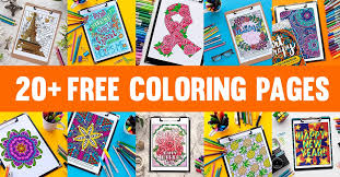 See our coloring sheets collection below. The Ultimate List Of Legit Free Coloring Pages For Adults Hundreds Of Free Printables From 60 Sources