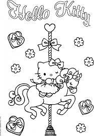 Stampa E Colora Hello Kitty Kittylove
