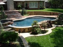 ground pools decks idea ground pool deck ideas