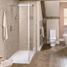 A walk-in shower will work in almost any room, but its design may limit  where it can be positioned in the room, for example, if you've got low  eaves, ...