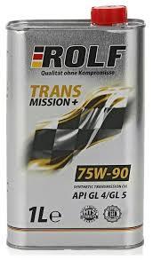 <b>Трансмиссионное масло ROLF</b> Transmission Plus 75W-90 GL-4 ...