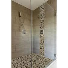 gray shower tile flooring the