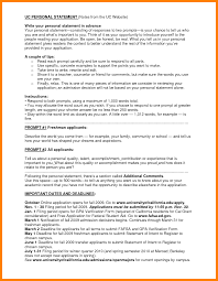 uc personal statement example essay 5 personal statement examples for uc pay statements