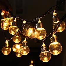 Bulb Fairy Lights 110v 20 Led Light Bulb Ball String Fairy Lights For Bedroom Xmas Wedding Party 30 Buy Christmas Baubles Buy Christmas Decor From Williem 20 76