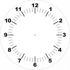 Face Printable Clock Photo Free Download