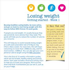 Make Your Own Weight Loss Chart Sample Weight Loss Chart 7 Documents In Pdf