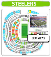Steelers Seating Chart With Rows 10 Rare Heinz Field Rows
